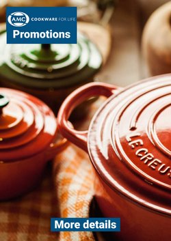 AMC Cookware offers in the AMC Cookware catalogue ( 1 day ago)