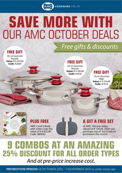 AMC Cookware offers in the AMC Cookware catalogue ( 12 days left)