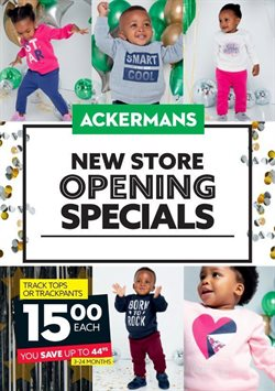 Clothes, shoes & accessories offers in the Ackermans catalogue in Cape Town