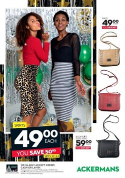 Bags offers in the Ackermans catalogue in Cape Town