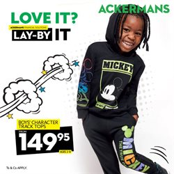 Clothes, Shoes & Accessories offers in the Ackermans catalogue in Soweto ( Expires today )