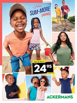Clothes, Shoes & Accessories offers in the Ackermans catalogue in Pietermaritzburg ( 2 days left )