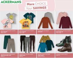 Ackermans offers in the Ackermans catalogue ( Expires tomorrow)
