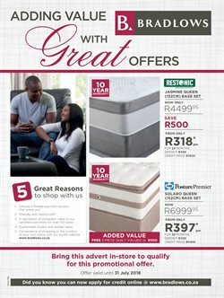 Bedroom offers in the Ackermans catalogue in Cape Town
