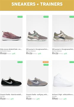 Sneakers offers in the Superbalist catalogue in Cape Town