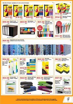 Indexes offers in the PNA catalogue in Cape Town