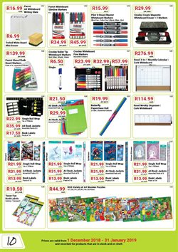 Calendar offers in the PNA catalogue in Cape Town