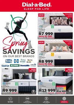 Dial a Bed deals in the Edenvale special