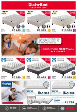 Pillow specials in Dial a Bed