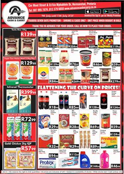 Snowflake specials in Advance Cash n Carry