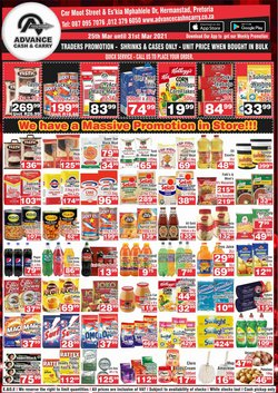Advance Cash n Carry catalogue ( Expired )