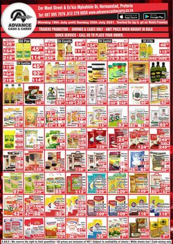 Advance Cash n Carry offers in the Advance Cash n Carry catalogue ( Expires tomorrow)