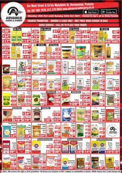Advance Cash n Carry offers in the Advance Cash n Carry catalogue ( 2 days left)