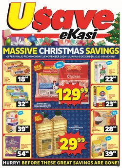 Regal specials in Usave