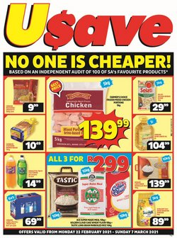 Usave catalogue ( 7 days left )