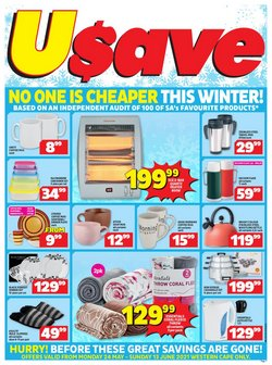Groceries offers in the Usave catalogue ( Expires tomorrow)