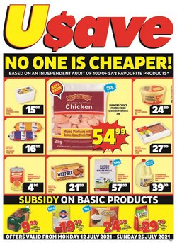 Usave offers in the Usave catalogue ( Expires today)