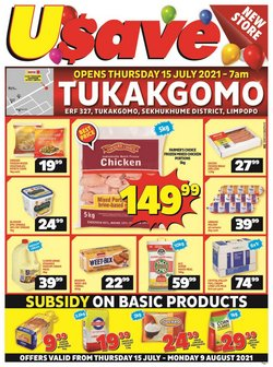 Usave offers in the Usave catalogue ( 15 days left)