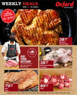 Oxford Freshmarket offers in the Oxford Freshmarket catalogue ( 2 days left)