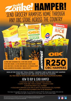 Rice specials in OBC Meat & Chicken