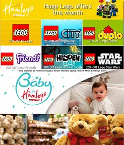 Babies, Kids & Toys offers in the Hamleys catalogue in Cape Town