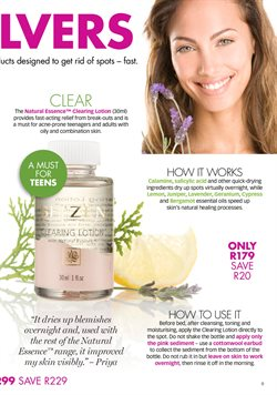 Face lotion specials in Sh'Zen
