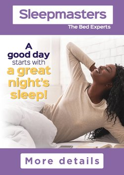 Sleepmasters catalogue ( 1 day ago)