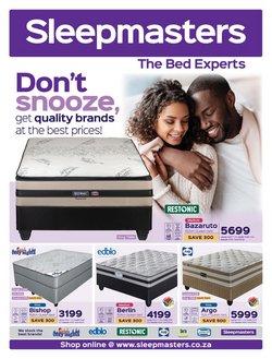 Sleepmasters catalogue ( Published today)