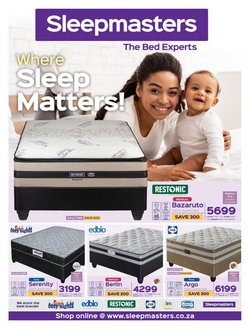 Home & Furniture offers in the Sleepmasters catalogue ( 14 days left)