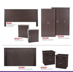 Wardrobe offers in the Sleepmasters catalogue in Durban