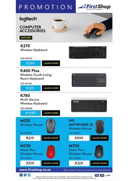 First Shop deals in the Cape Town special