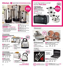 Kettle specials in HomeChoice