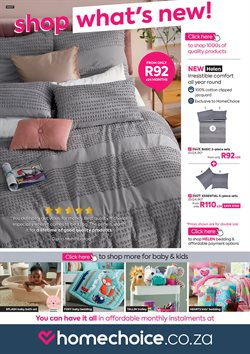 Home & Furniture offers in the HomeChoice catalogue in Polokwane ( 2 days left )