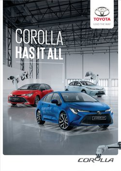 McCarthy Toyota offers in the McCarthy Toyota catalogue ( More than a month)