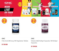 GNC South Africa offers in the GNC South Africa catalogue ( 10 days left)