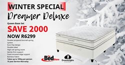 The Bed Store deals in the Johannesburg special