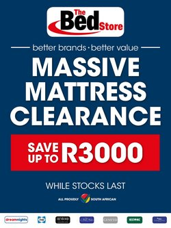 Home & Furniture offers in the The Bed Store catalogue in Pretoria ( 7 days left )