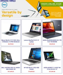 Computer World offers in the Computer World catalogue ( 7 days left)