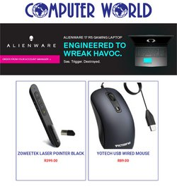 Computer World offers in the Computer World catalogue ( 9 days left)