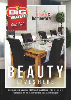 Big Save offers in the Big Save catalogue ( 8 days left)