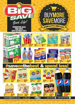 Big Save offers in the Big Save catalogue ( 4 days left)
