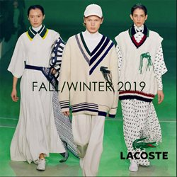 Luxury brands offers in the Lacoste catalogue in Port Elizabeth