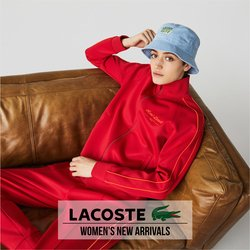 Lacoste catalogue ( More than a month)