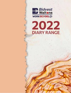 Books & Stationery offers in the Bidvest Waltons catalogue ( More than a month)