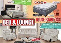 Bed and Lounge deals in the Pretoria special