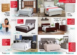 Wardrobe specials in Bed and Lounge