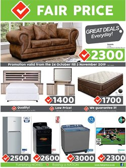 Fair Price deals in the Johannesburg special