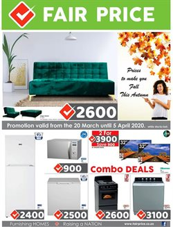 Home & Furniture offers in the Fair Price catalogue in Roodepoort ( 2 days left )