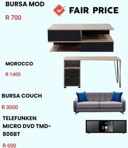 Home & Furniture offers in the Fair Price catalogue ( 4 days left)