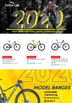 Cycle Lab deals in the Cape Town special